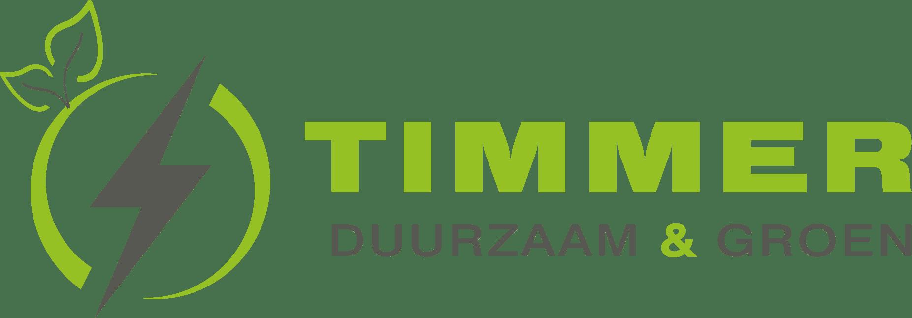 Timmer Duurzaam & Groen logo